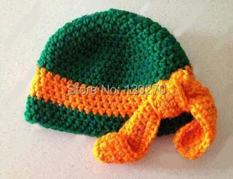 Free Shipping Teenage Mutant Ninja Turtles Crochet Knitted Hat