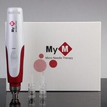 купить!  Derma Pen Dr. Pen MYM Микроигольчатая ручка Байонетные игольчатые картриджи Prot Используйте с прово Лучший!