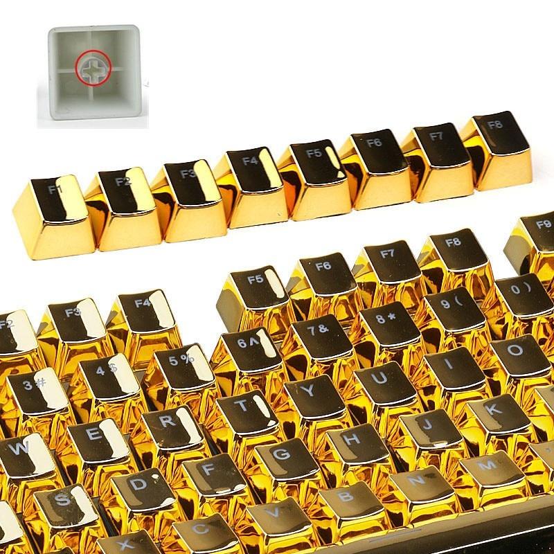 FFFAS Mechanical keyboard keycap PBT kit modifier keycap Cherry mx switch TKL 87 104 keyboard enter key side top print key caps