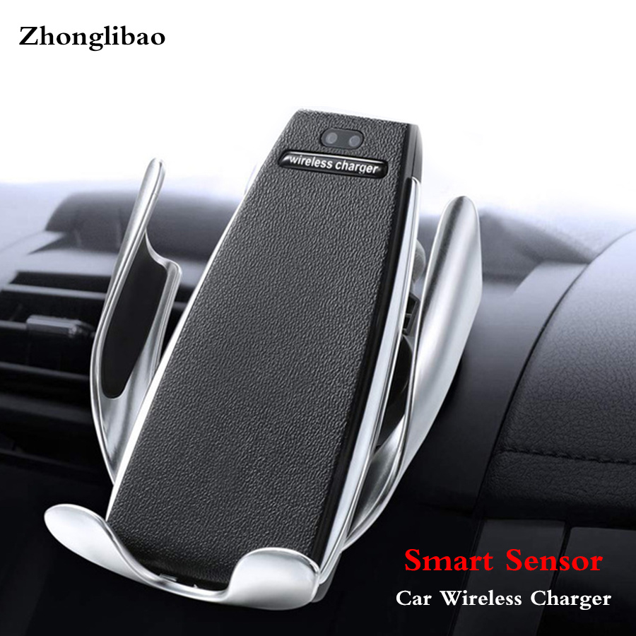 10w Qi Fast Wireless Car Charger Mount for Samsung S10 S9