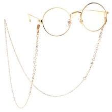 Gold Metal Glass Chains Eyewears Sunglasses Reading Glasses Chain Cord Holder Ne