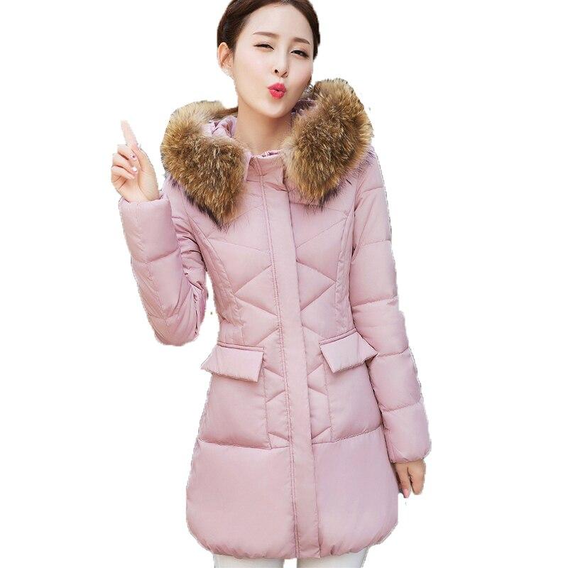 rembourré Inverno En Veste Feminina Casaco Blue Ouatée pink red Coton 2018 D'hiver Nouvelle black beige Femelle Femmes Zvaqs Longues Slim St229 light Parka Grey 0ZqzxEn6
