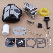 цена на Carburetor Air Filter Carb Kit For Husqvarna 36 41 136 137 141 142 Chainsaw 530071987 530019172 530035482 Zama C1Q-W29E