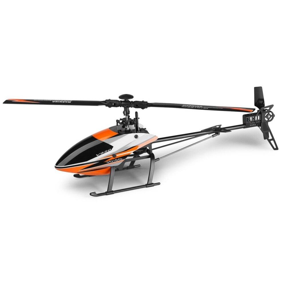 Для WLtoys V950 горячая Распродажа 2,4G 6CH 3D/6G система свободно переключается бесщеточный двигатель RTF пульт дистанционного управления Вертолет сильный ветер RC игрушки - 3