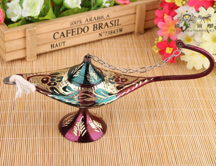 Free shipping height 2pcs handicrafts bronze color 39 s lamp for Gardening tools pakistan