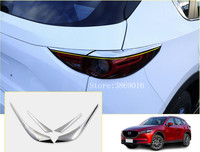 ABS Chrome Rear Tail Light Strip Trim Fit For Mazda CX5 CX 5 2017 2018 Auto Accessories
