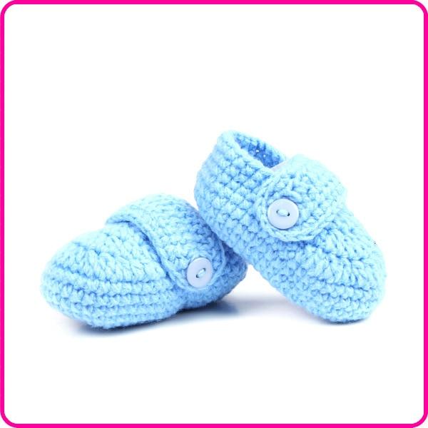 New Design Infant Baby Handmade Knitted Crochet Soft Summer Sandals