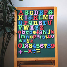 A-Z Alphabet Fridge Magnets Letters Numbers Fridge Magnets Stickers Children Kids Educational Learning Toys Gift Home Decor(China)
