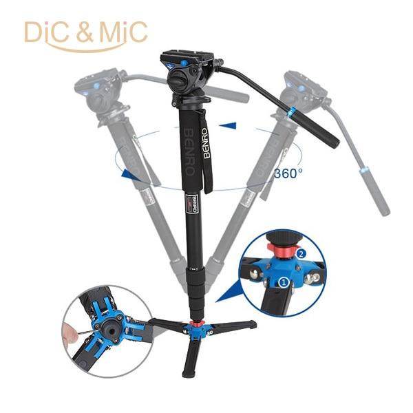 Benro A49TDS4 Sport & Bird Sledování série Monopod Kit / Stativ Pro Video & DSLR Fotoaparát / rekordér Podpora Rám Velkoobchod