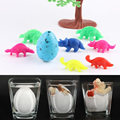 5 Pcs  Magic Water Growing Egg Colorful Hatching Add Cracks Grow Eggs Cute Children Kids Toy  Boys Novelty Gadget  Toy