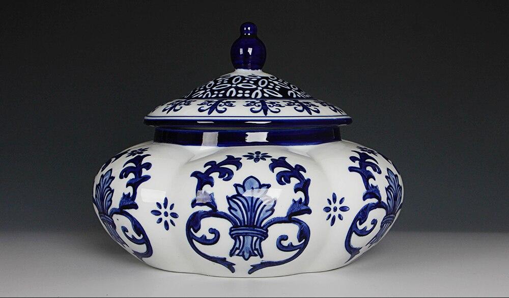branco pequeno pote tanque de armazenamento cerâmica