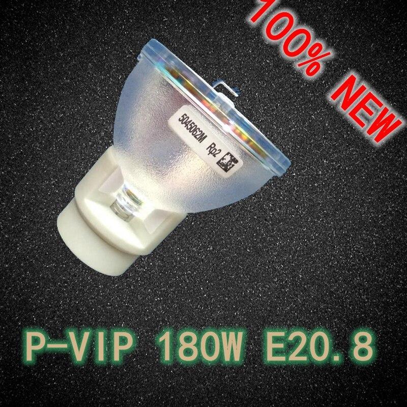 все цены на  100% New Original Projector Bare Lamp P-VIP 180W E20.8 for Acer H5380BD/P1283/P1383W/X113H  онлайн
