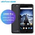 Ulefone U008 Pro 4 Г Мобильный Телефон 5.0 дюймов HD 1280x720 IPS MTK6737 Quad Core Android 6.0 2 ГБ RAM 16 ГБ ROM 3500 мАч Смартфон