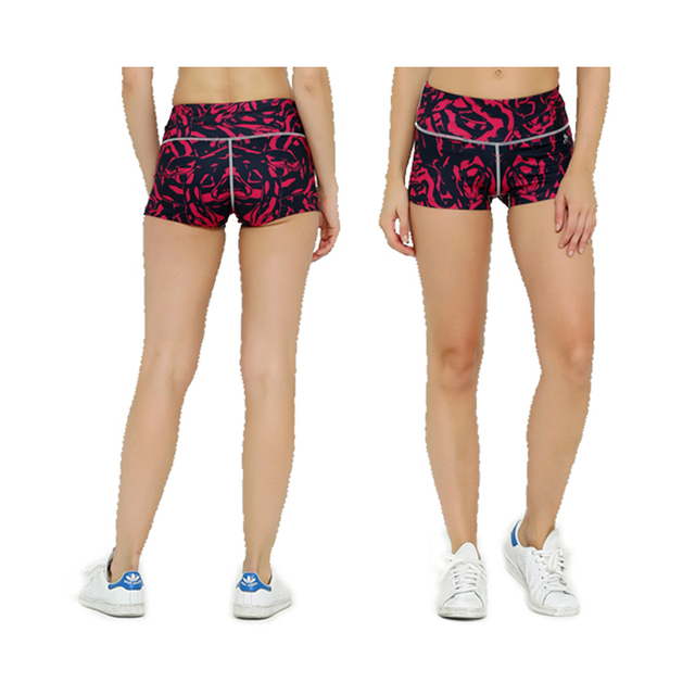 Women Short Pants Hot Compression Shorts Bodybuilding Female Keep Slim Bottoms 3D Prints Workout Fitness Base Layer