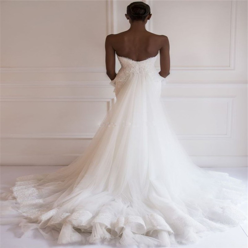 Online Buy Wholesale bling mermaid lace wedding dress from China ...