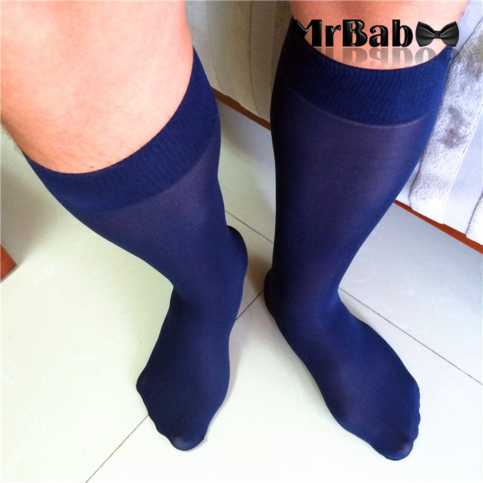 3db31edde 4Pairs Lot Ultrathin Men s Navy Sheer Socks