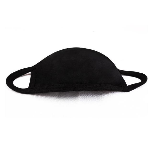 Reusable Black Cotton Dust Mask
