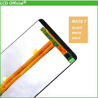 10pcs DHL New 100 Test For Huawei Mate 7 Mate7 LCD Display Touch Screen Digitizer Assembly