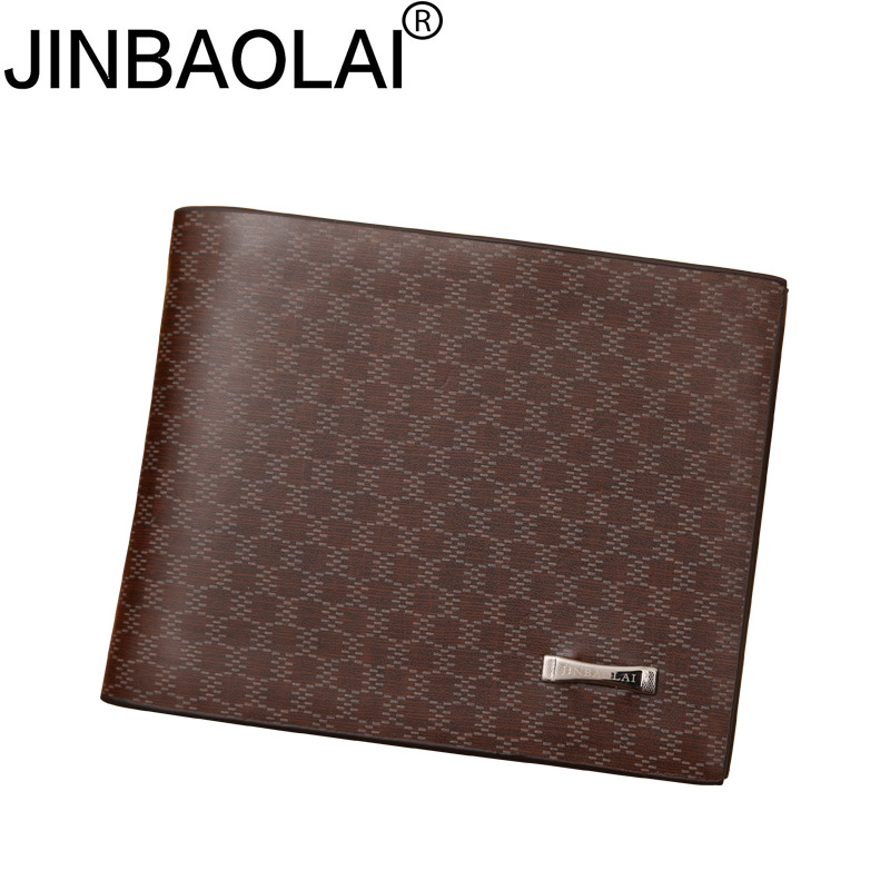 Fashion Mens Leather Short Wallets Coin Cash Pocket Purses Gift Men ID Credit Card Holde ...