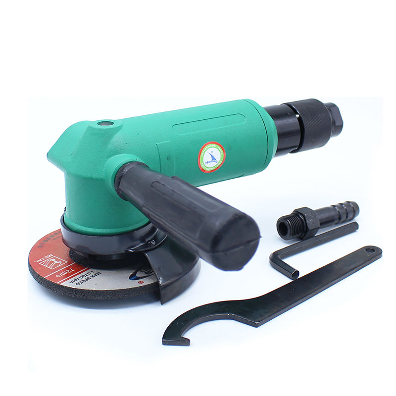 цены High Quality 4 Inches Pneumatic Angle Grinder 90 Degree Air Grinder Machine Pneumatic Grinding Tool 100MM