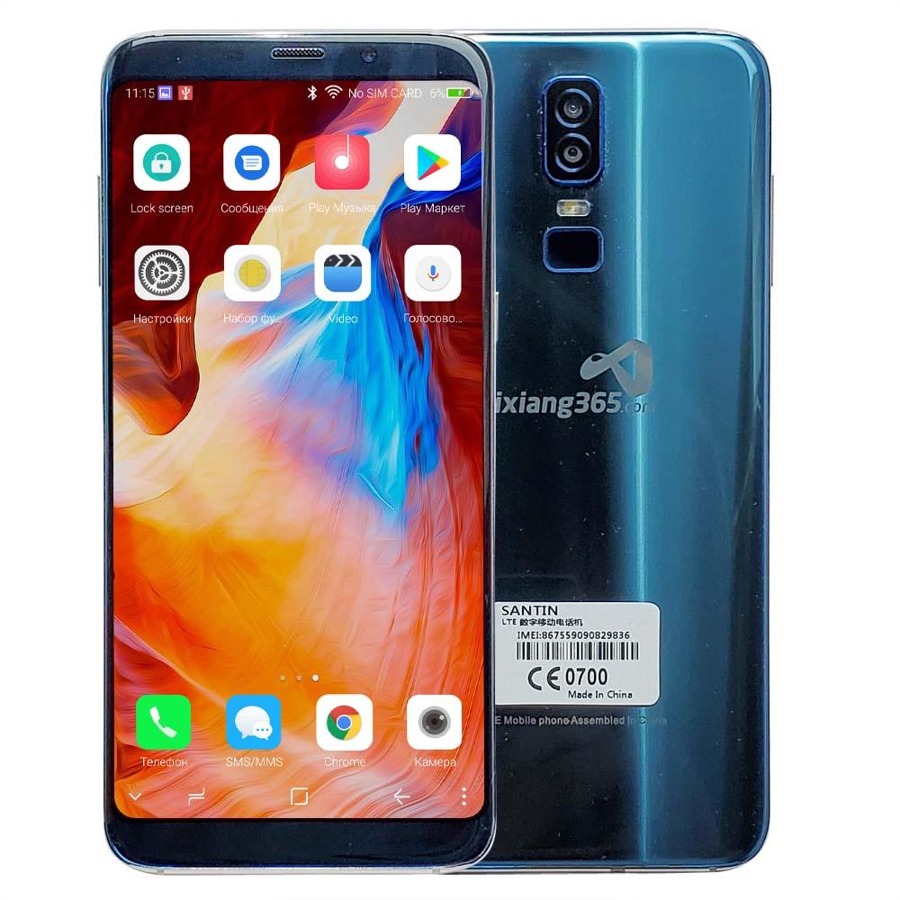 "SANTIN ix365 Face ID Touch ID Super สมาร์ทโฟนหน้าจอใหญ่ 18:9 6.0 ""4 GB RAM 64GB ROM Dual ซิม FDD LTE 4G โทรศัพท์มือถือสมาร์ท lz6-ใน โทรศัพท์มือถือ จาก โทรศัพท์มือถือและการสื่อสารระยะไกล บน AliExpress - 11.11_สิบเอ็ด สิบเอ็ดวันคนโสด 1"