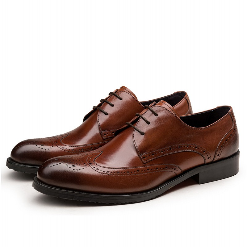 Formal Business Shoes Men Leather Breathable Lace-Up Pointed Toe Dress Shoes Men Oxford Causal Shoes Man Classic JS-A0087Formal Business Shoes Men Leather Breathable Lace-Up Pointed Toe Dress Shoes Men Oxford Causal Shoes Man Classic JS-A0087