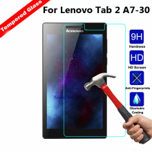 цена на Tempered Glass For Lenovo Tab 2 A7-10 A7-10F A7-20 A7-20F A7-30 A7-30HC A7-30DC Tab2 A7 20 30 Screen Protector Tablet Film Glass