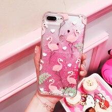 Flamingo Phone Case For iPhone 6/6s /5 SE/ 7 Plus