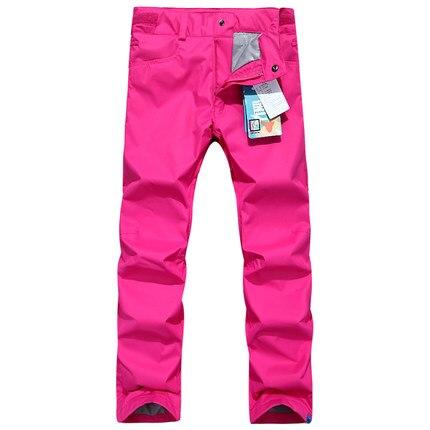GSOU SNOW Double simple planche pantalon de Ski pour femme hiver extérieur imperméable chaud épaissi coupe-vent respirant pantalon de Ski - 5