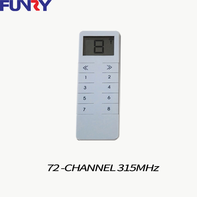 Funry RF315 Light Switch remote controller,work with Broadlink RM Pro and 315MHz universal hub ,one can control the whole house