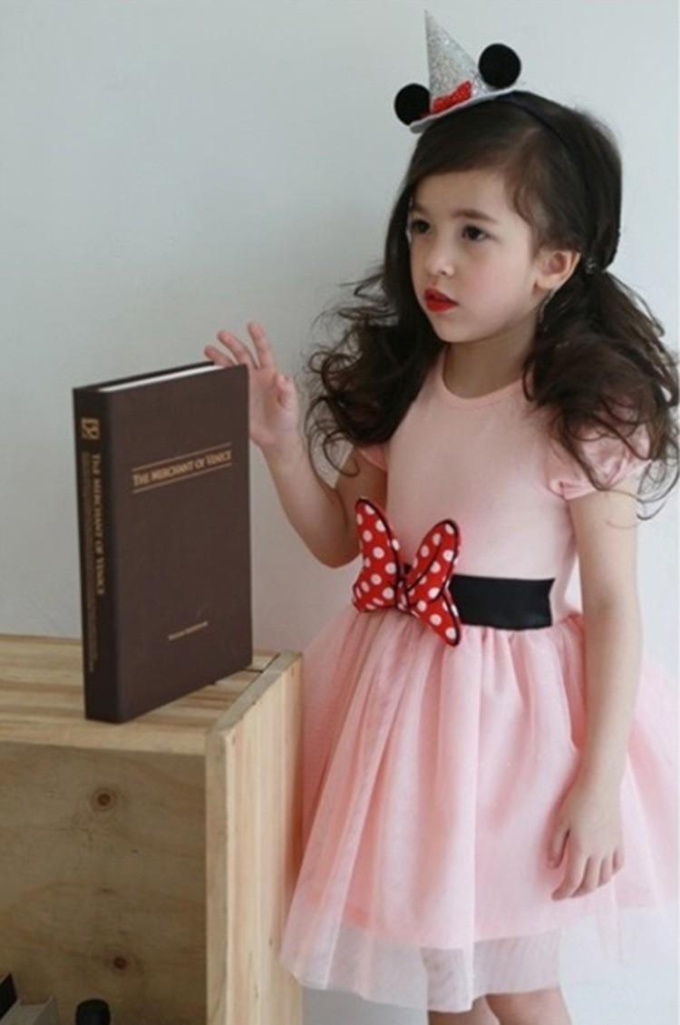 HTB1PmW1LpXXXXbOXFXXq6xXFXXX0 - 2017 Summer Baby Girls Dress Minnie Mouse Dresses For Girls Princess Minnie Dress Birthday Party Children Clothes Kids Costume