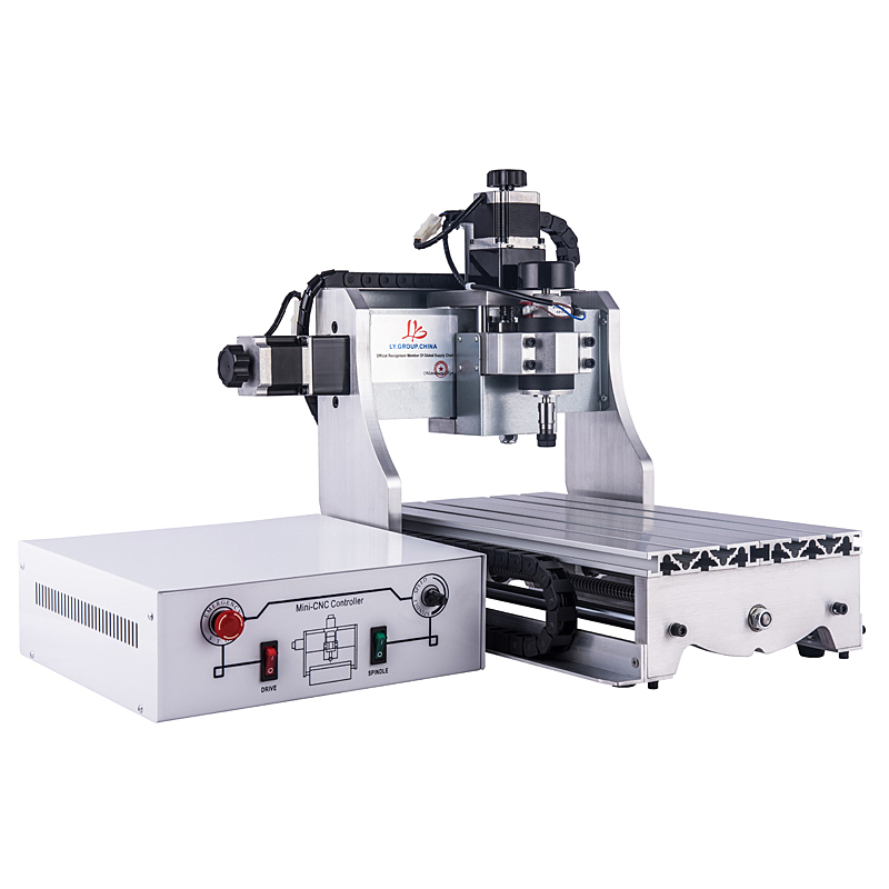 <font><b>3020</b></font> 300W Mini DIY <font><b>CNC</b></font> <font><b>Router</b></font> 30X20cm with White Control Box Cutting and Drilling Machine Milling Machine for Hobby image