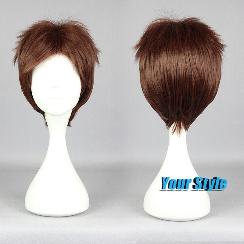 30cm Cute Short Hair Haircuts Hairstyles Pixie Wigs ...