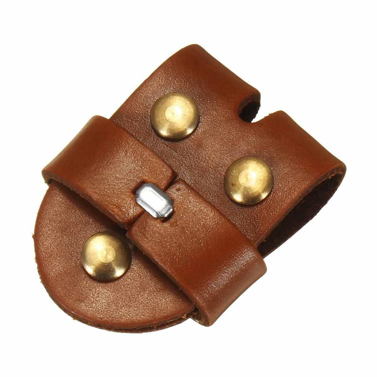 Kiwarm 1 قطعة حزام جلد الابازيم حزام الاكسسوارات كليب النساء الرجال حزام الابازيم ل 4 سنتيمتر حزام العرض