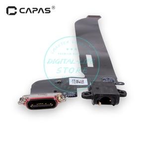 Image 4 - עבור Oneplus 5 A5000 USB Dock Connector מטען טעינת נמל יציאת אוזניות חלקי חילוף לתיקון החלפת Flex כבל מודול