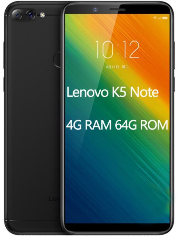 US $119 99 |Global ROM Lenovo K5 Note L38012 4GB 64GB ZUI 3 9 4G FDD LTE  Mobile Phone 6