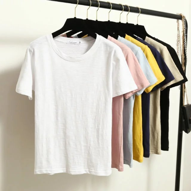 Fashion Women tshirts Cotton Casual Funny t shirt For Lady Top K549