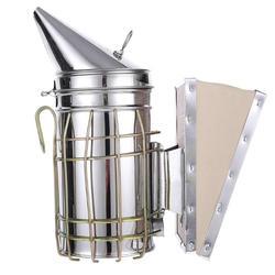 Manual de acero inoxidable abeja humo transmisor Kit de apicultura de la herramienta de la apicultura herramienta abeja fumador de la apicultura