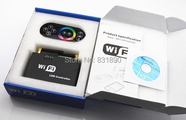 Wifi controller led mi licht hub + rf touch 4 zone remote + 4 stücke 2,4G Controller für Led streifen RGB RGBW RGBWW 12 V 24 V Freies schiff - 3