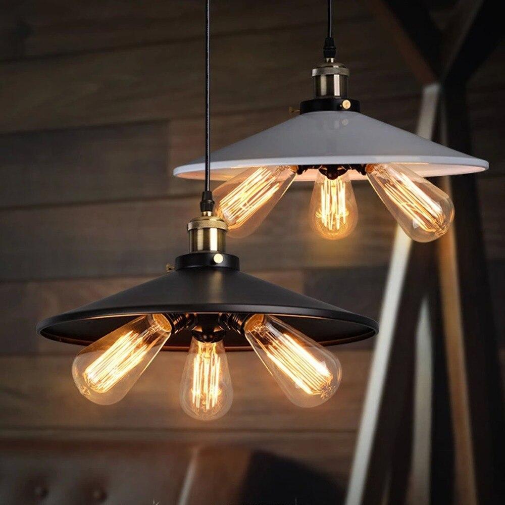 Vintage Loft Pendant Light American Country Industrial