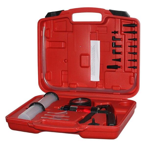 HRTools hand held vacuum pump brake bleeder bleeding diagnostic tester tool set