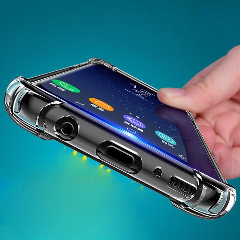 Phone Case For Samsung S10 S9 A70 A50 A40 A30 A20 A10 Note 10 9 J8 J3 J2 J5 J7 Pro J4 J6 Plus Prime Clear Silicone TPU Cover Bag