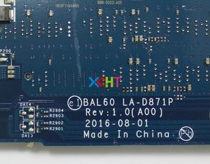 Image 5 - עבור Dell Inspiron 14 5468 5468D 0YP25 00YP25 CN 00YP25 BAL60 LA D871P W i5 7200U 216 0864032 מחשב נייד האם Mainboard נבדק