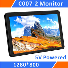 7 Inch Mini Hdmi Portable Monitor-1280*800 IPS LCD Screen,Powered By USB,Ultralight For Raspberry Pi/FPV/PS3/PS4/CCTV (C007-2)