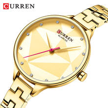 Классические кварцевые часы curren женские наручные с креативным