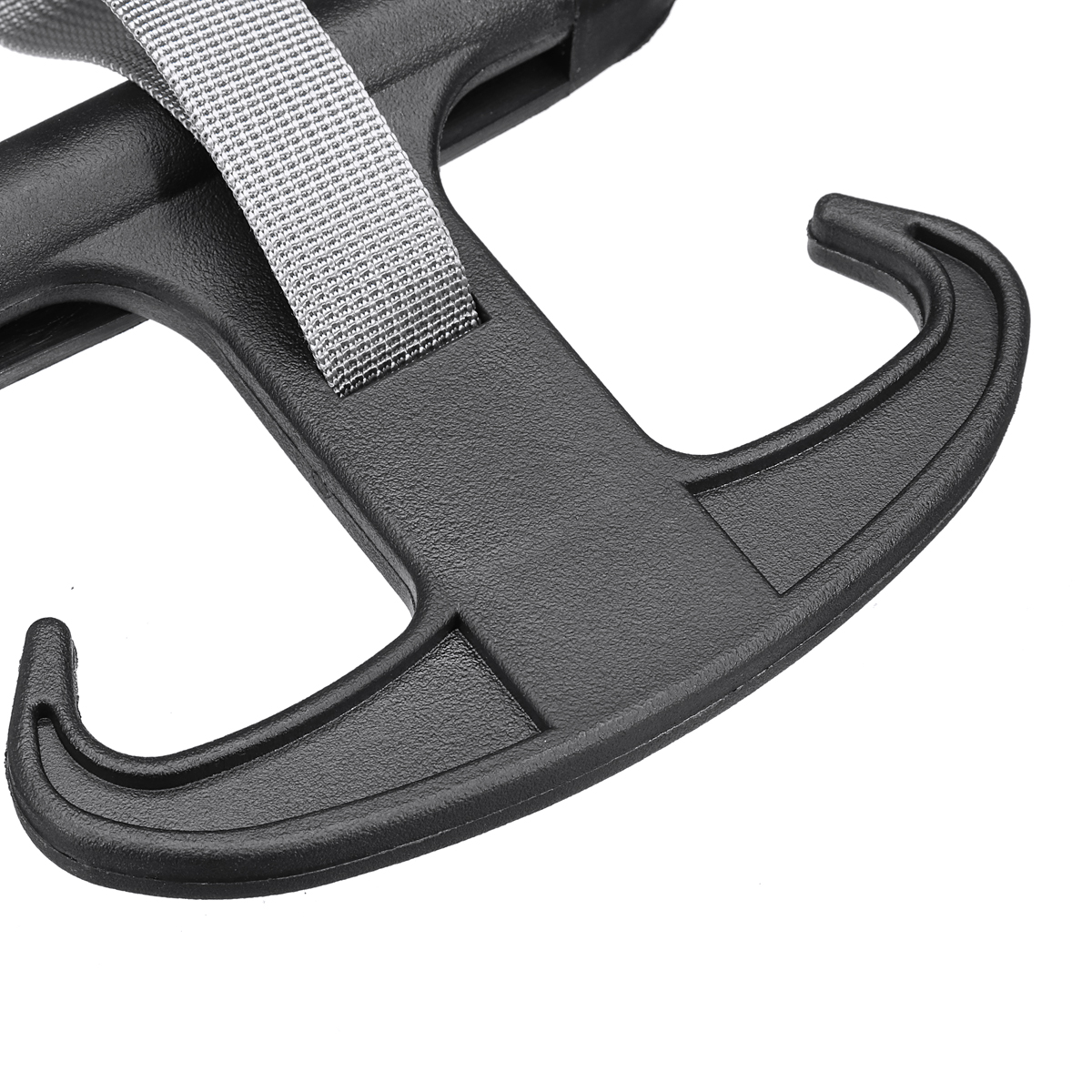 Image 5 - High Quality Black Car Cargo Trunk Bag Hook Holder Hanger For VW Passat B6 CC  for Volkswagen Jetta MK5-in Auto Fastener & Clip from Automobiles & Motorcycles