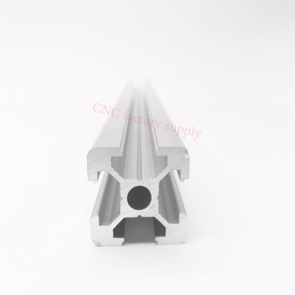 HOT Sale CNC 3D Printer Parts European Standard Anodized Linear Rail Aluminum Profile Extrusion 2020 for DIY 3D printer цена и фото