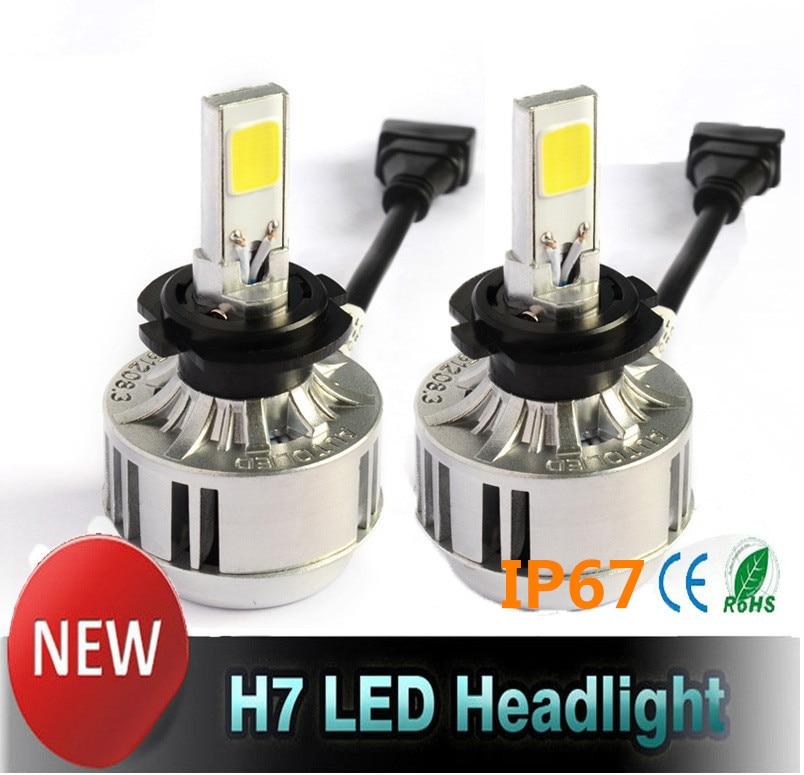 Aliexpresscom  Buy COB LED H7 Car Headlights Kit 66W