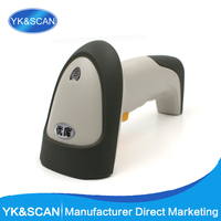 High quality Laser 1D single line Barcode Scanner YK 960 Free shipping POS Inventory USB/RS232/PS/2/KB