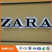 Высокое качество из нержавеющей стали с подсветкой led буквы CE сертифицированный